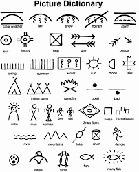 thanksgiving and indians native american pictographs native american symbols american