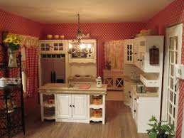 kitchen design classic white country kitchen design with framed