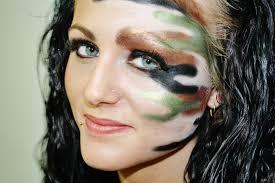Halloween Barbie Makeup by Camo Makeup Inspiration Hotdame Pinterest Camo Makeup And