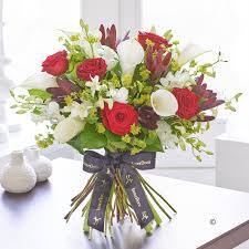 Flowers Delivered Uk - hand tied bouquets flower delivery isle of wight flowers