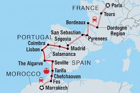 Map Of South Of France by France Tours U0026 Travel Intrepid Travel Us
