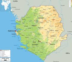 Physical Map Of Africa by Maps Of Sierra Leone Map Library Maps Of The World