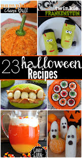 23 halloween recipes desserts appetizers drinks and more