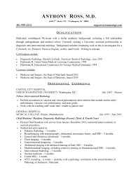 Examples For A Resume by Physician Resume Sample Health Care Sample Resumes