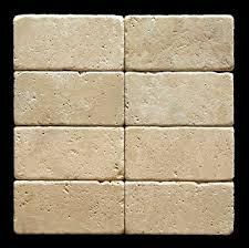 Cream Subway Tile Backsplash by Ivory Light Travertine 3 X 6 Subway Field Tile Tumbled Marble