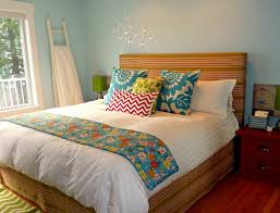 bedroom small master bedroom with diy upholstered headboard and