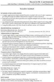 Sample Resume For Admin Assistant by Professional Profile Resume Examples Resume Professional Profile