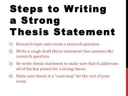 Creating good thesis statements writefiction web fc com Imhoff Custom Services