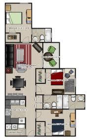 3 Bedroom Apartment Floor Plan 20 Best Floor Plans Of Fisher Building City Apartments In Chicago