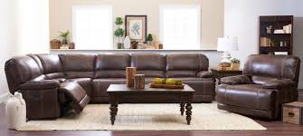 Klaussner International Klaussner International Foster Six Piece Power Reclining Sectional