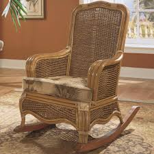Rocking Chair Cusion Braxton Culler Shorewood Tropical Rattan Rocking Chair With Loose