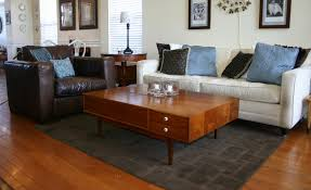 Rug Sizes For Living Room Proper Sizing For A Living Room Rug Before And After