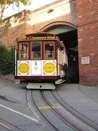 San Francisco Cable Car Map by Restoration Market Street Railway