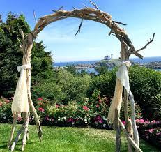 driftwood wedding arch arbor wedding ceremony arbor