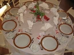 table setting a table setting at a arbor crest winery ano u2026 flickr