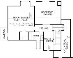 2nd floor home plans