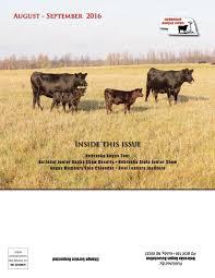 Chair Rock Angus Nebraska Angus News August September 2016 By Livestockdirect Issuu