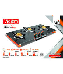 vidiem air plus 3 br 3 burner manual price in india buy vidiem