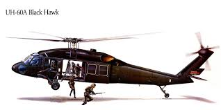 helicopters uh 60a black hawk painting art aviation