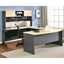 most decorative u shaped desk with hutch all about house design
