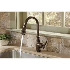 Oil Rubbed Kitchen Faucets Moen 7185orb Brantford Oil Rubbed Bronze Pullout Spray Kitchen
