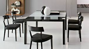 dining room surprising modern black and white dining room