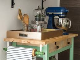 How To Build A Custom Kitchen Island How To Trick Out A Rolling Kitchen Cart Hgtv