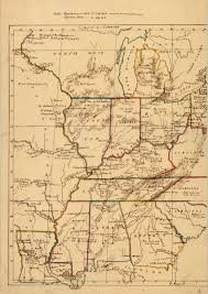 Us Map Michigan by Untitled Manuscript Map Of Part Of Us Including Missouri