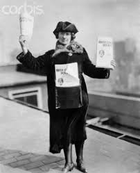 Birth Control Review   Margaret Sanger Papers Project     Kitty Marion Selling Birth Control Review