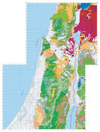 Map Of The Red Sea Geology Of Israel In The Biblical Framework 2 The Flood Rocks
