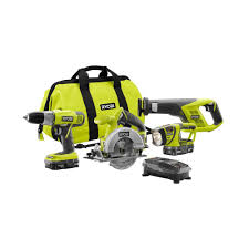 black friday 2016 home depot power tools ryobi one p883 4 piece combo u2013 special buy at home depot