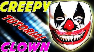 how to make a diy scary clown mask for halloween cheap and easy
