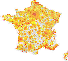 Map Of South Of France by Urban Area France Wikipedia