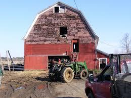panoramio photo of gambrel barn