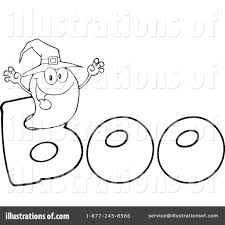 halloween ghost clipart black and white ghost clipart 1080283 illustration by hit toon