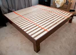 Make A Platform Bed With Storage by Diy Bed Platform Finelymade Furniture