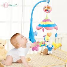 nextx crib musical mobile baby cot mobile toy with sofe colorful