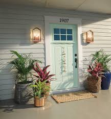 how to decorate your front door the mine