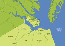 Map Of Virginia Counties And Cities by Maps Center Hampton Roads Economic Development Alliance