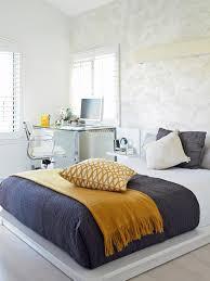 Navy Blue Wall Bedroom 15 Cheery Yellow Bedrooms