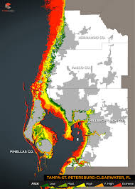 Map Of Clearwater Florida 2015 Storm Surge Maps