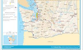 Map Of Washington Cities by Urban Uw