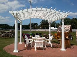 Custom Gazebo Kits by Backyard Billy U0027s Vinyl Pergolas Pre Built Pergola Kits Baltimore