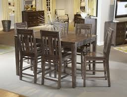 solid wood counter height dining table by kincaid furniture wolf