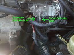 automobile repair etc 94 explorer vacuum line madness pics