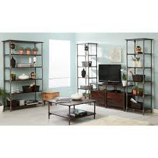 Low Narrow Bookcase by Centra Industrial Narrow Bookcase
