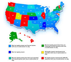 Us Circuit Court Map Map Of States And Their Rules For Driver U0027s Licenses Numbersusa