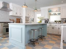 Update Kitchen Cabinets Blue Kitchen Cabinets Blue Cabinets Via Simply Grove Grey Homes