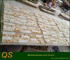Deco Mur Exterieur Jaune Marbre Extérieur Décoration Mur De Briques Buy Product On