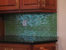 Green Tile Backsplash by Kitchen Design Kitchen Backsplash Glass Tile Ideas Minimalist